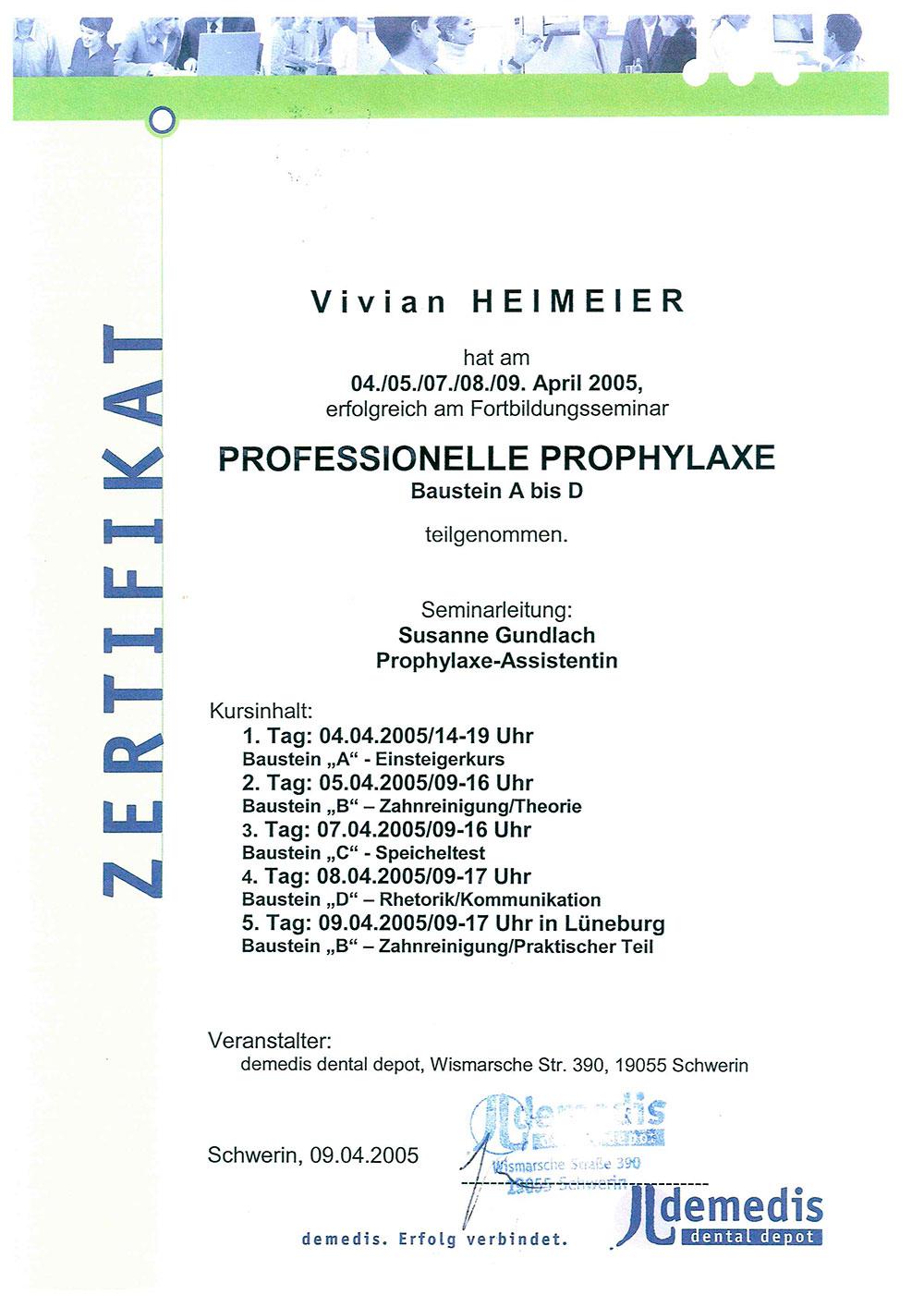 Professionelle-Prohylaxe-Heimeier-II