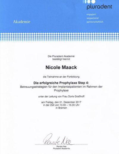 Nicole Maack Prophylaxe Step 4
