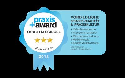 PRAXIS + AWARD AUSZEICHNUNG 2019